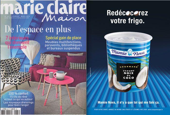 Mamie nova campagne ref magazine pub 2014 (voir autres sur site)