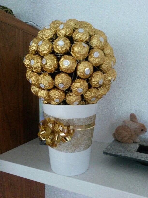 Ferrero Rocher Kugel Als Geschenk Geschenke Geburtstag