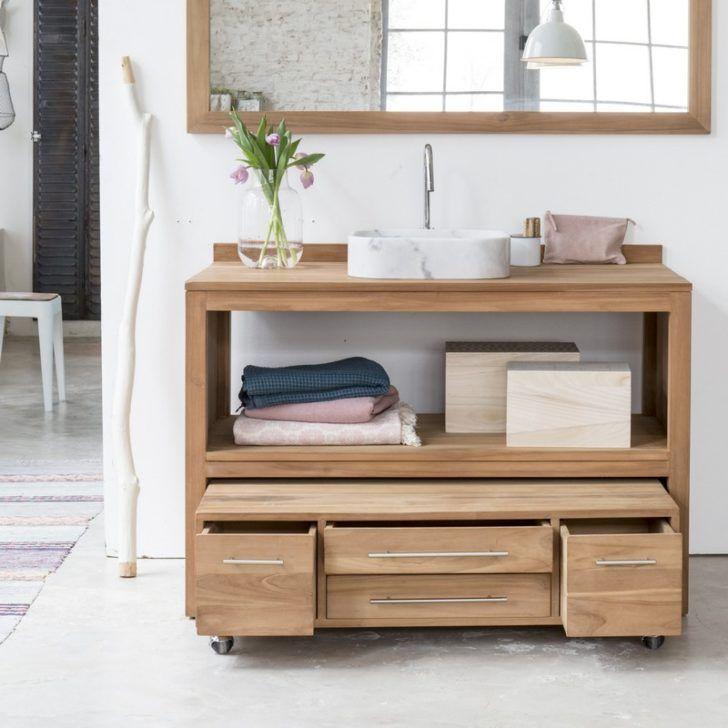 Interior. Simple bathroom decoration using solid oak wood drawer teak bathroom furniture vanity including furry white bathroom area rug…