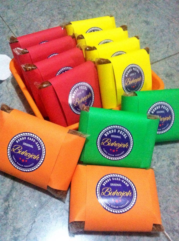 BUHAJAH Bumbu Pecel & Bumbu Gado-Gado..Order 085236403640