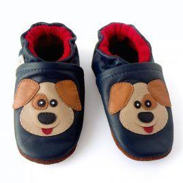 Calzado adecuado para bebé diseño perro. Zapaticos hermosos para gatear ♥