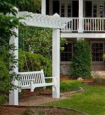 Backyard Swing Ideas patio swing canopy cover black polished wrought iron based outdoor swing chair backyard and outdoor furniture Backyard Swing
