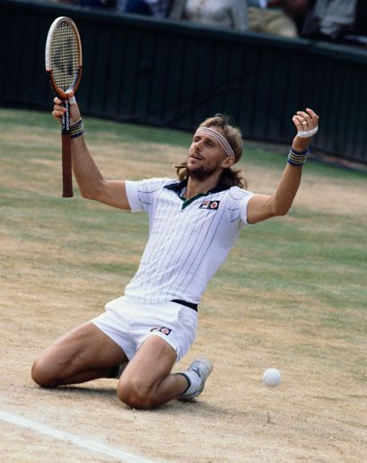 Bjorn Borg was the hottest thing in tennis?! Oh, yea!
