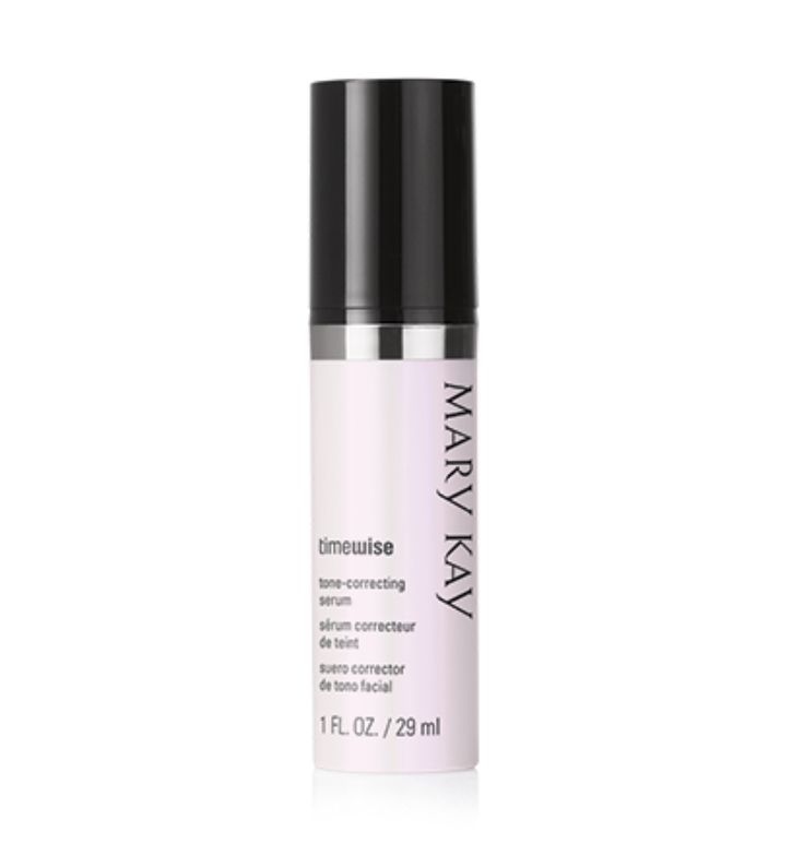 Mary Kay's new Tone Correcting Serum dramatically evens the appearance of skin tone and is clinically shown to significantly improve skin brightness.  If you have pesky dark spots or splotchy skin tone this is for you! Visit my site and yours today!