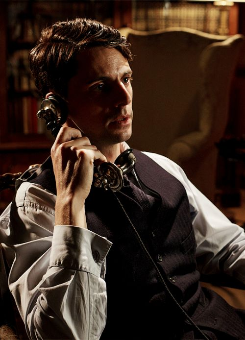 Henry Talbot - Matthew Goode in Downton Abbey Season 6, set between 1925 and 1927 (TV series).