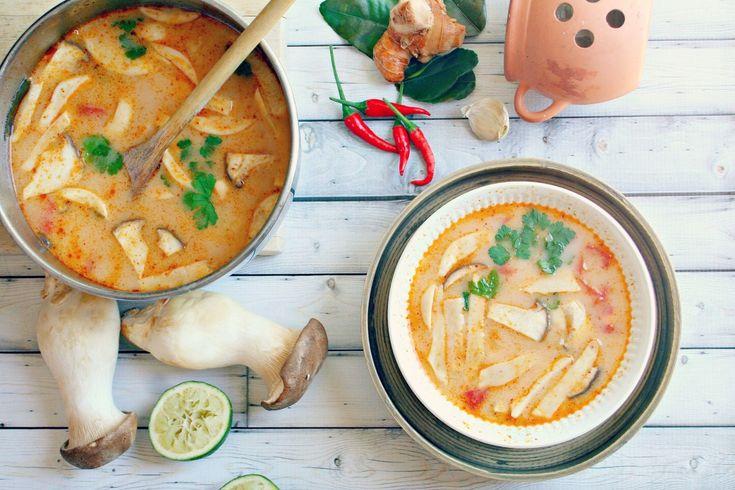 Tom Yum Soup (Tom Yam Nam Khon)