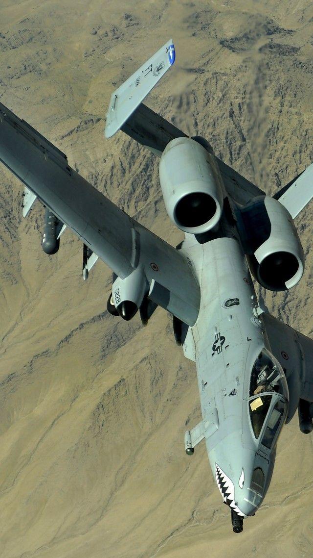 Thunderbolt II, jet aircraft, Fairchild Republic, A-10, attack aircraft, U.S. Air Force