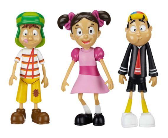 """El mundo de la popular serie mexicana """"El Chavo del Ocho"""" llegará a las jugueterías de EEUU a partir de agosto de la mano del fabricante Jakks Pacific."""