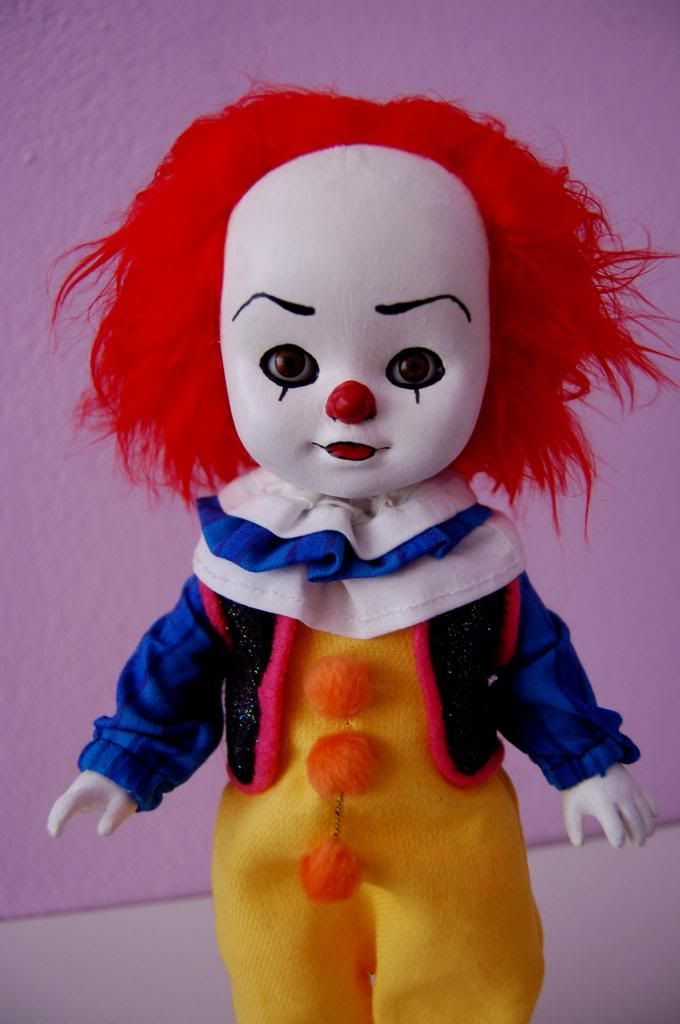 Pennywise the dancing clown! with tuto, lot of pics! - TOYS, DOLLS AND PLAYTHINGS