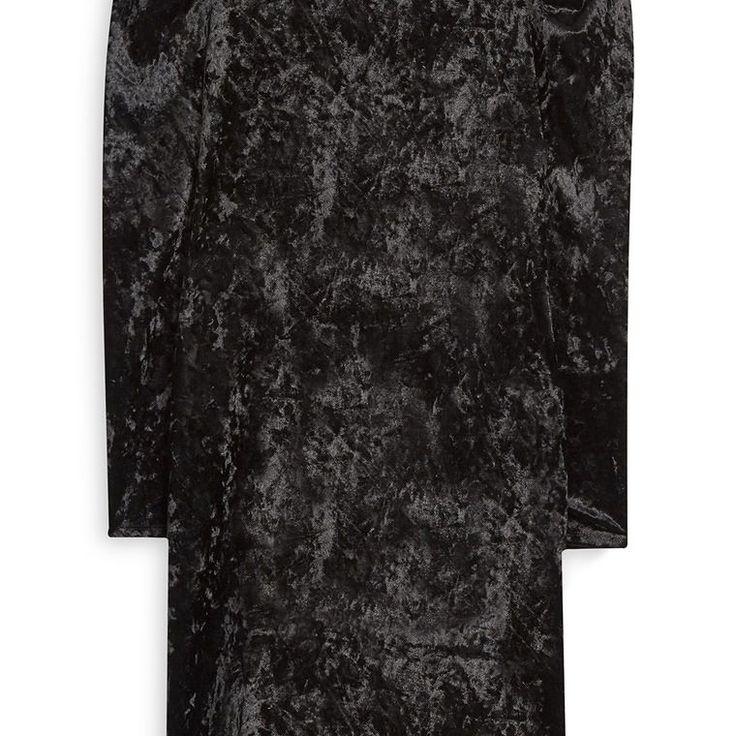 Vestido de Terciopelo negro  Categoría:#primark_mujer #ropa_de_mujer #vestidos en #PRIMARK #PRIMANIA #primarkespaña  Más detalles en: http://ift.tt/2B9E9ku