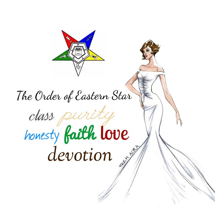 Order of Eastern Star clip art I designed!