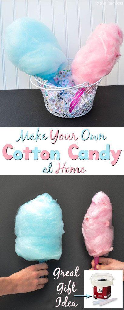 how do you make cotton with machine