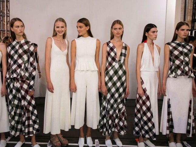 Gingham Spring 2016 Trends Report: The Best Women's Fashion Trends For SS16 | Marie Claire