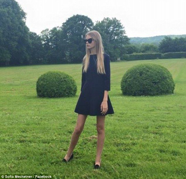 Rags to riches story of 14-year-old model Sofia Mechetner #dailymail