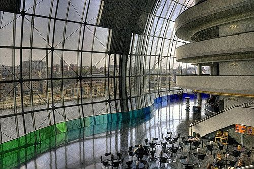 The Sage Gateshead interior