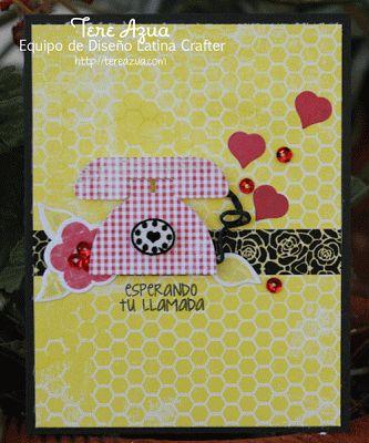 Latina Crafter - Sellos en Español: Scraplift Modificado.