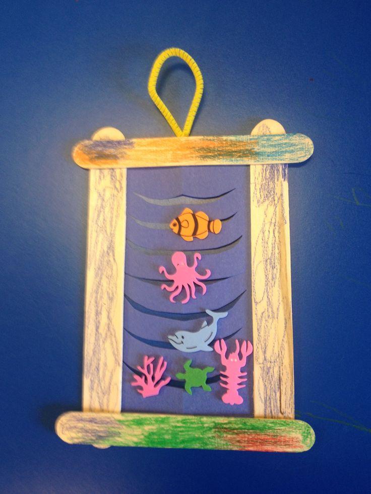 Frame ocean craft