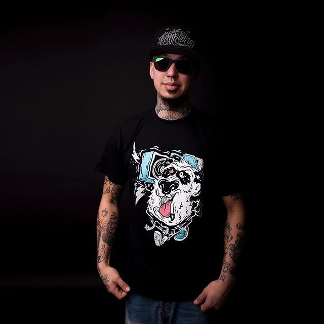 "CRMC X NVA Griot ""Street Panda"" Tee & ""Conspiring"" SnapBack Available at www.crmcclothing.co 