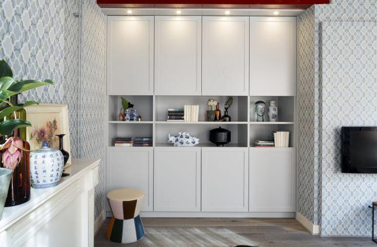 Wallpaper / Behang Layers by Edward van Vliet RTL Woonmagazine - BN Wallcoverings