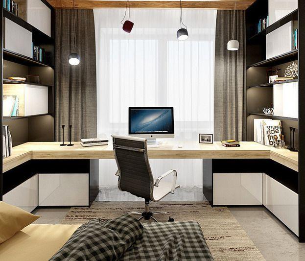 Как создать функциональную комнату для студента:  проект из Москвы