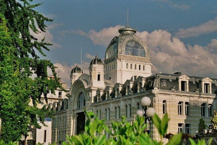 Palais Lumière. Evian-Les Bains, Haute-Savoie