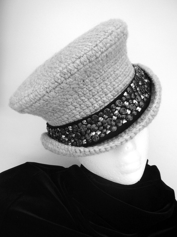 Grey corset back Hat-mad hatter
