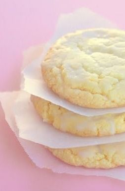 Lemon Drop Cookies - The Girl Who Ate Everything