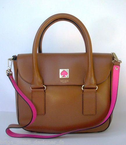 Kate Spade New Bond Street Flo Leather Purse Bag