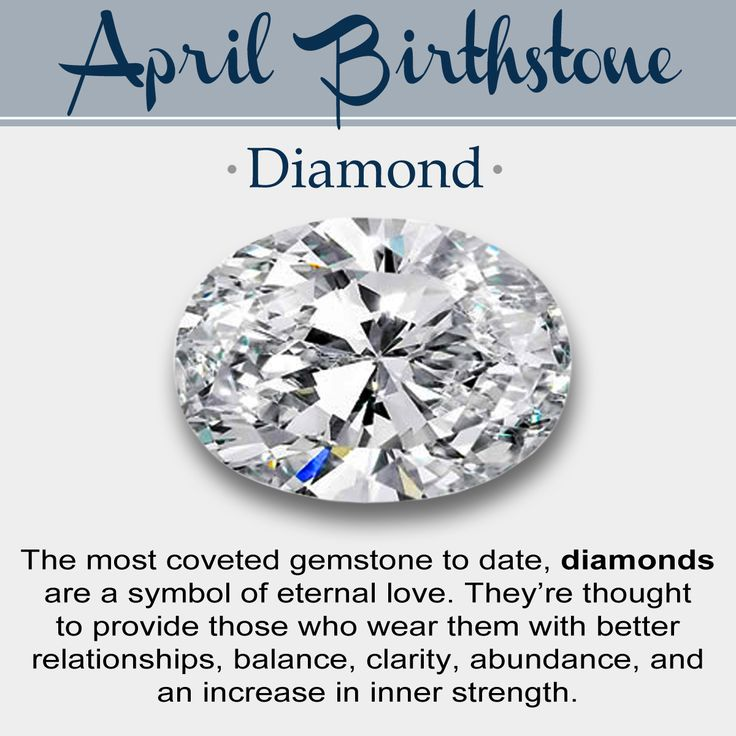 April Birth Flower Color Meanings: April Birthstone // History, Meaning, & Lore