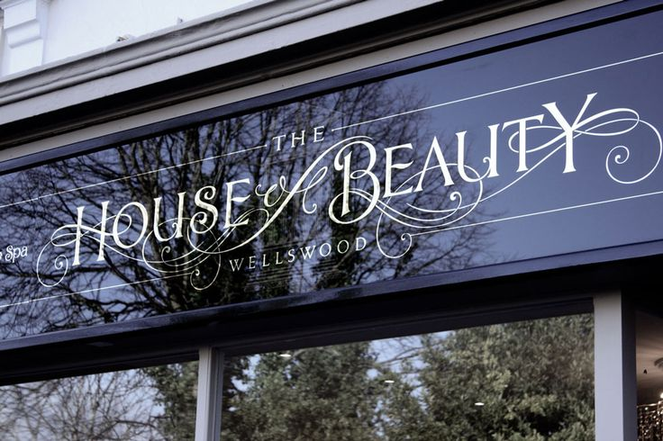 House of Beauty street signage
