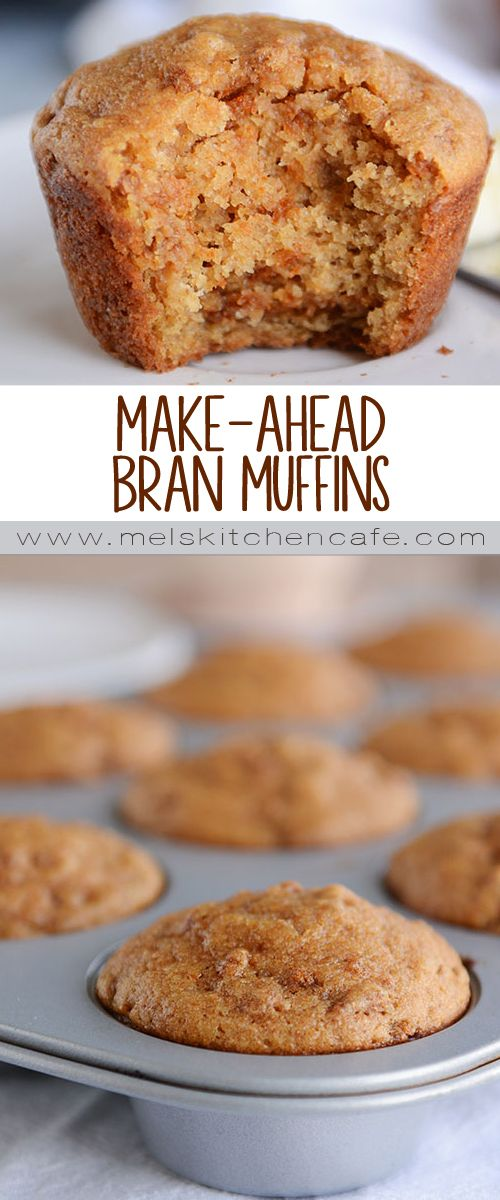 This easy recipe for healthy, whole grain bran muffins is a huge family favorite! The batter can be kept in the fridge for up to a month, which means you'll only ever be a few minutes away from warm, fresh-from-the oven bran muffins!