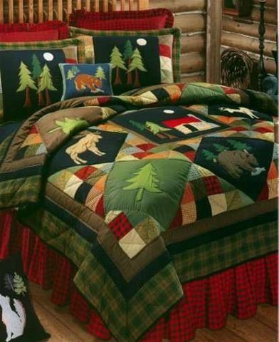 Moose quilt                                                                                                                                                      More