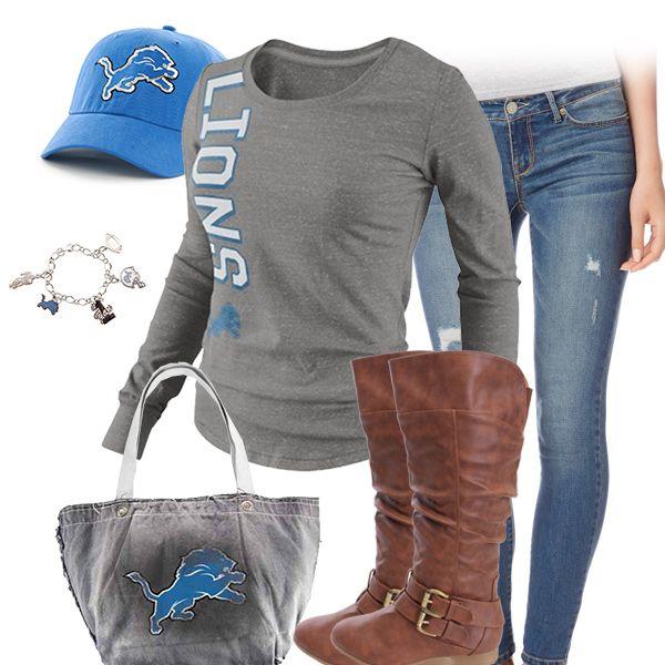 Cute Detroit Lions Outfit