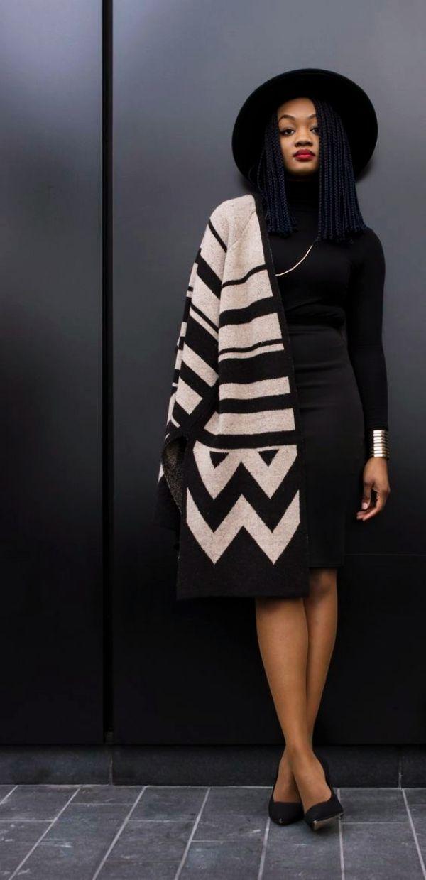 70 Casual Work Outfits für schwarze Frauen – #
