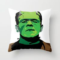 Throw Pillows by Steven Goddard | Society6