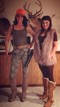 deer and hunter girl halloween costume - Google Search
