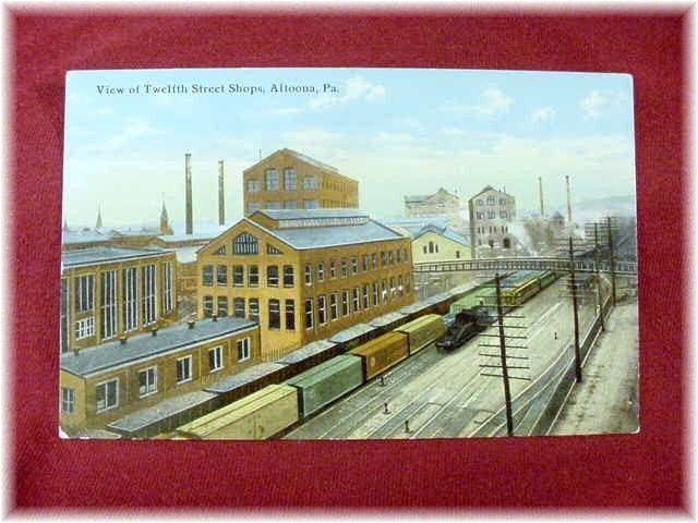 Pennsylvania Railroad 12th Street Shops | Altoona PA ...