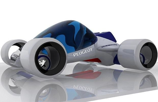 Peugeot concept vehicles: the cars of the future - Telegraph
