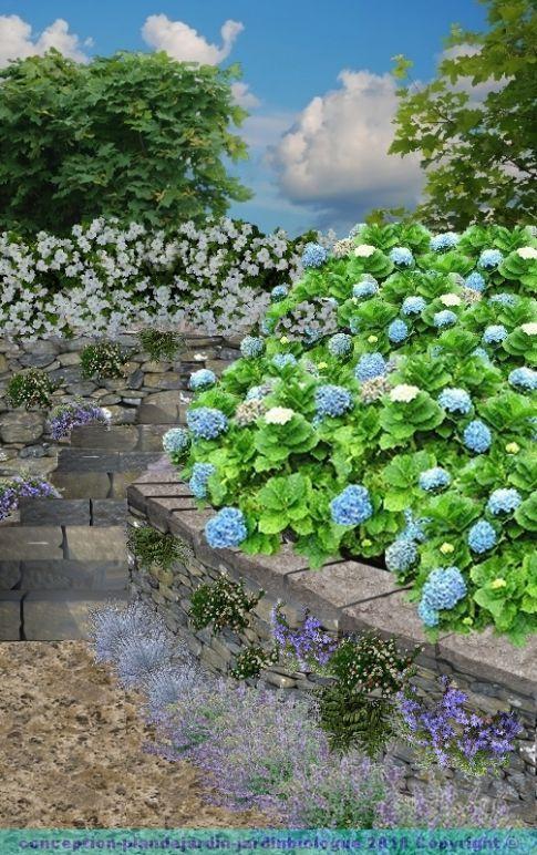 Les 25 meilleures id es concernant pierre s che sur for Jardiniere en pierre seche