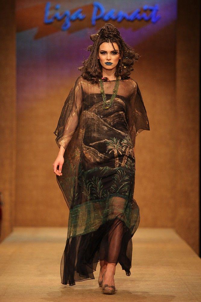 Silk dress - Touareg Collection.