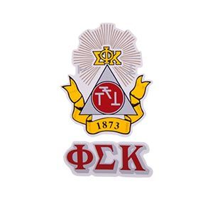 Phi Sigma Kappa Waterslide Crest & Letter Combinations