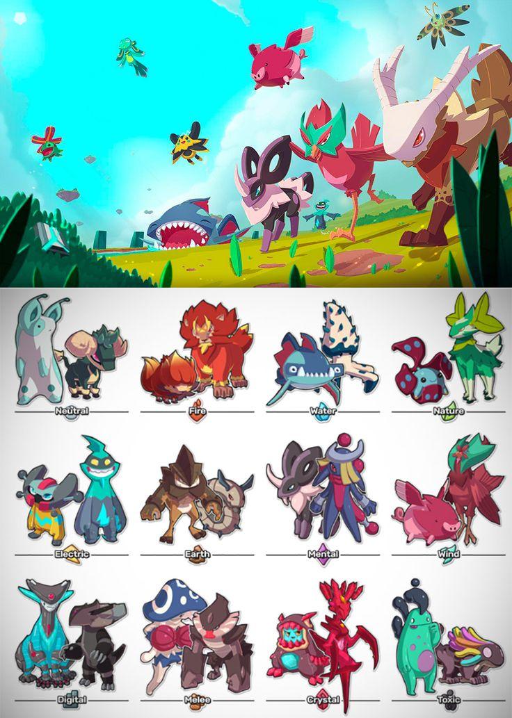 First look at temtem the pokemoninspired mmo game