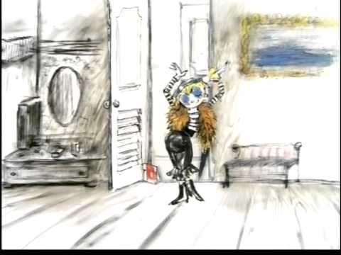 """Un cortometraggio """"particolare"""": i disegni di Fellini animati dal regista russo A. Khrzhanovskij.   «... all'inizio di un film ho bisogno di disegnare, è un modo per cominciare a guardare il film in faccia, per vedere che tipo è, un espediente per trattenere il film, o meglio ancora per intrattenerlo.» (grazie a @RosamariaNoia on Twitter)"""
