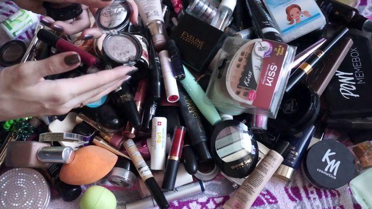 Разбор косметики | Очень много косметики | Часть 1