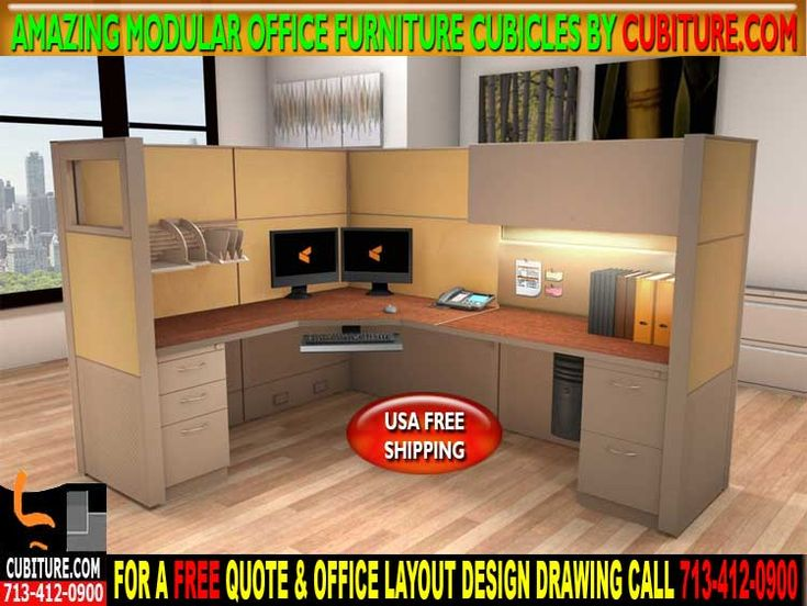 Modular Office Furniture Cubicles For Sale In Houston, TX