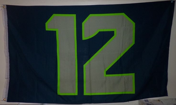 Seattle Seahawks Quot 12 Quot Flag Room Of Boom Ideas