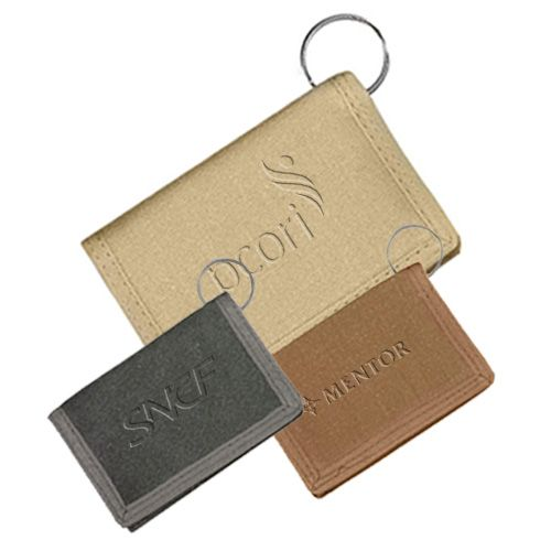 Custom printed canvas id wallets are classic promotional items that will allow your recipients to secure their essentials with ease. Get Now!   #CustomWallets  #PromotionalItems