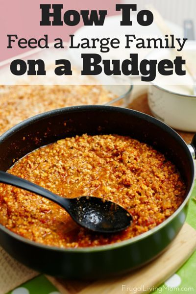 Want to learn how they do it? Here are 19 Grocery Budget Hacks for Big Families to help you save money.