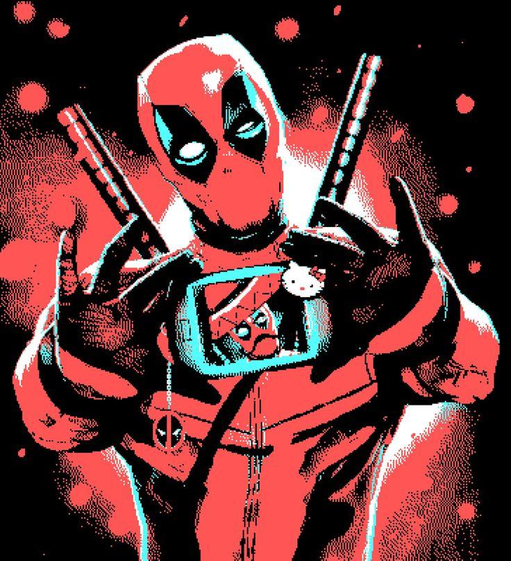 Steam Community :: :: Deadpool PixelArt