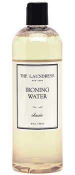 Ironing water - Put this in your steamer and steam your sheets/pillowcases